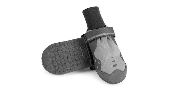 Ruffwear Summit Trex Paw Protection Set of 2 Storm Gray